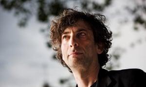 Alternative hero ... Neil Gaiman