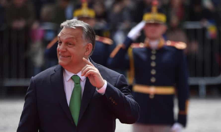 Hungary's prime minister Viktor Orbán.