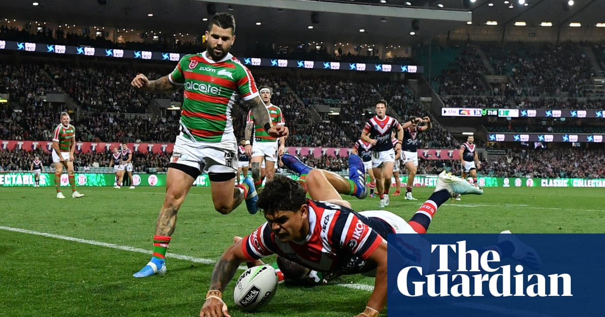 Roosters burst out of blocks to blow away Rabbitohs in NRL finals opener