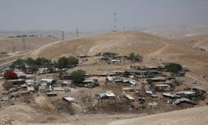 The community of Khan Al-Ahmar.
