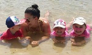 Hannah Clarke with her three children