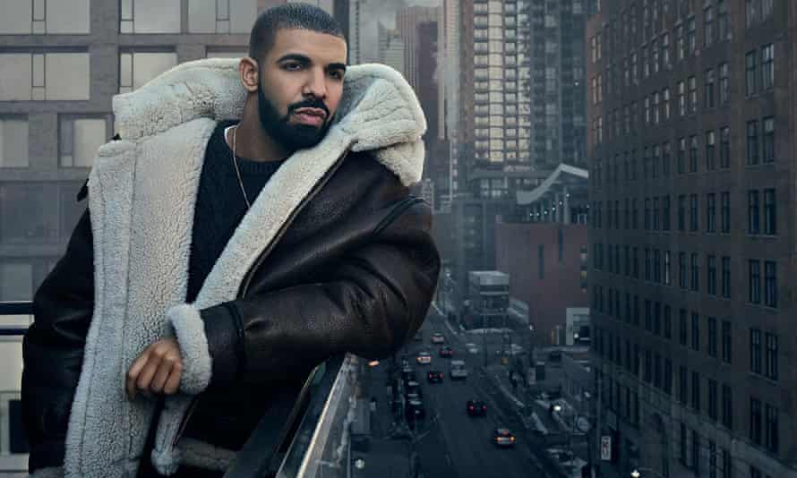 Drake, as featured in the Views album artwork