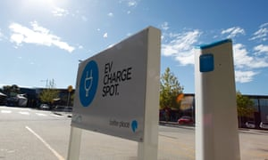 There are just 476 electric car charging stations in Australia.