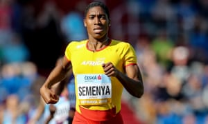 Caster Semenya will be an estimated five to seven seconds slower over 800m if the policy is introduced.