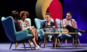 A panel at the Sydney Writers' Festival 2018