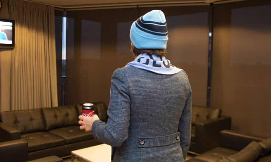 A photo posted by NSW premier Gladys Berejiklian as she gets ready to watch NSW clash with Queensland in the State of Origin rugby on Wednesday, four hours before it starts.