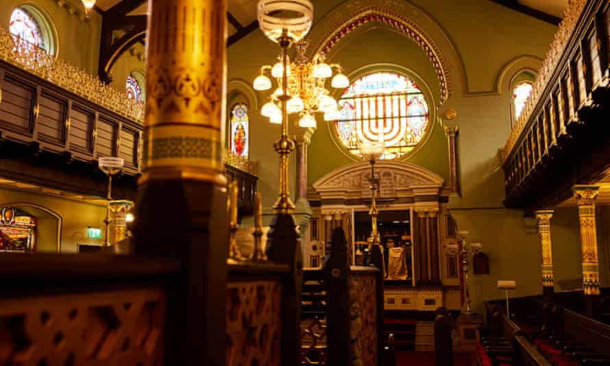 The Grade II*-listed synagogue has been repaired and renovated in its original 19th-century Moorish style