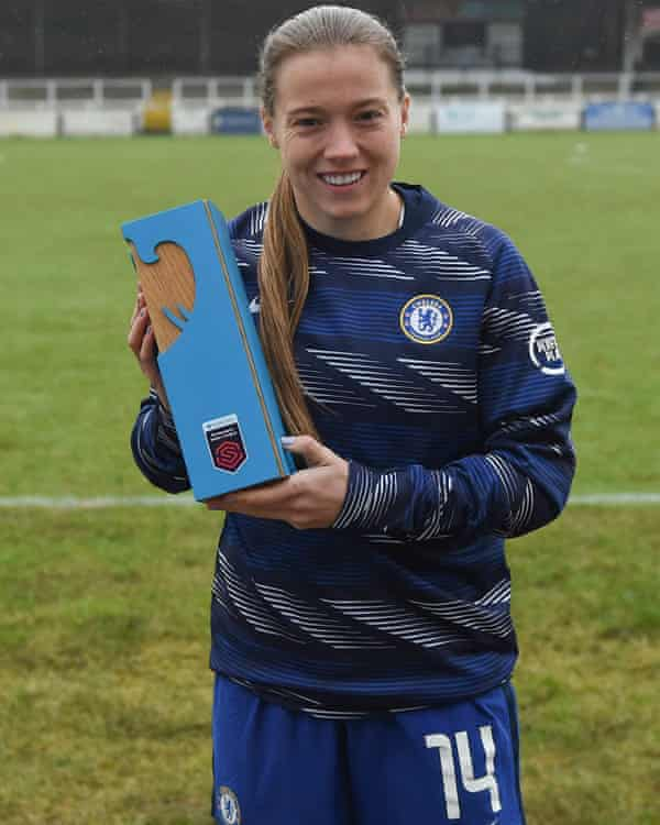 Kirby with the trophy that confirmed her fine form in January.