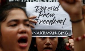 Philippines protest against Rodrigo Duterte