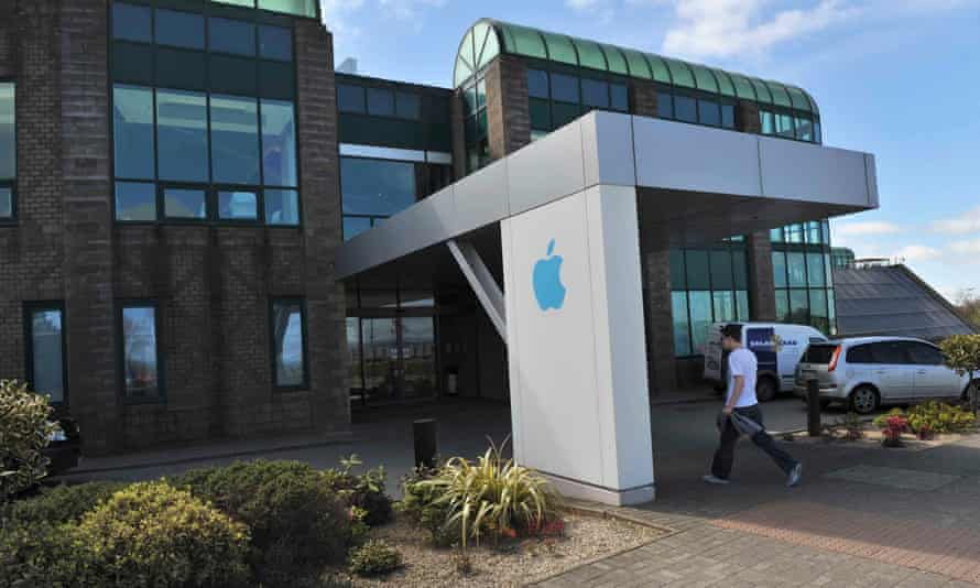 Apple Operations International, a subsidiary of Apple Inc, in Hollyhill, Cork, in 2013.