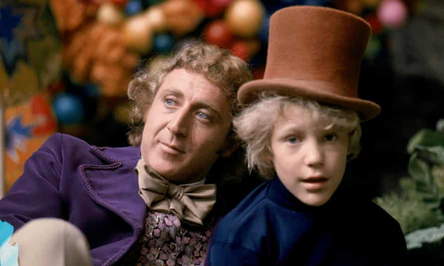 One picture shows Gene Wilder as Willy Wonka and Peter Ostrum as Charlie Bucket in the 1971 film 'Willy Wonka & the Chocolate Factory', actor Gene Wilder as Willy Wonka and Peter Ostrum as Charlie Bucket in the 1971 film 'Willy Wonka & the Chocolate Factory. '  seen in this undated brochure image obtained by Reuters on June 23, 2021. Warner Bros./Handout via REUTERS THIS IMAGE HAS BEEN SUPPLIED BY A THIRD PARTY.  MANDATORY CREDIT.  NO RESALES.  NO FILES