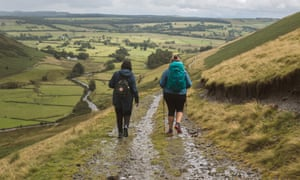 Onwards and upwards: a soggy hike to Bowscale.