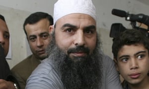 The radical Egyptian cleric Abu Omar