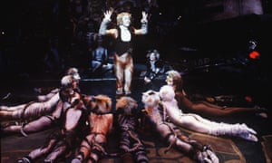 Cats, 1981, was based on TS Eliot's Old Possum's Book of Practical Cats.