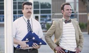 Vice Principals: Danny McBride and Walton Goggins try to take down the boss.