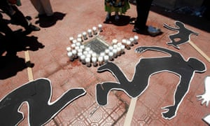 The shootout was just the latest atrocity in a wave of violence extending the length of Mexico.