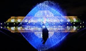 Kew Gardens Lights Up For Christmas