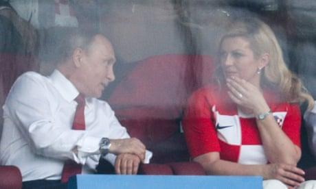 Successful World Cup fails to halt slide in Vladimir Putin's popularity