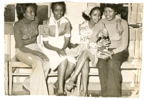 'A day trip to Debre Markos was one of the most rebellious things I've done growing up,' remembers Genet, a defiant girl who was a teenager in the 70s in Addis Ababa. Genet is the second from the right.