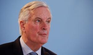 Michel Barnier in Luxembourg