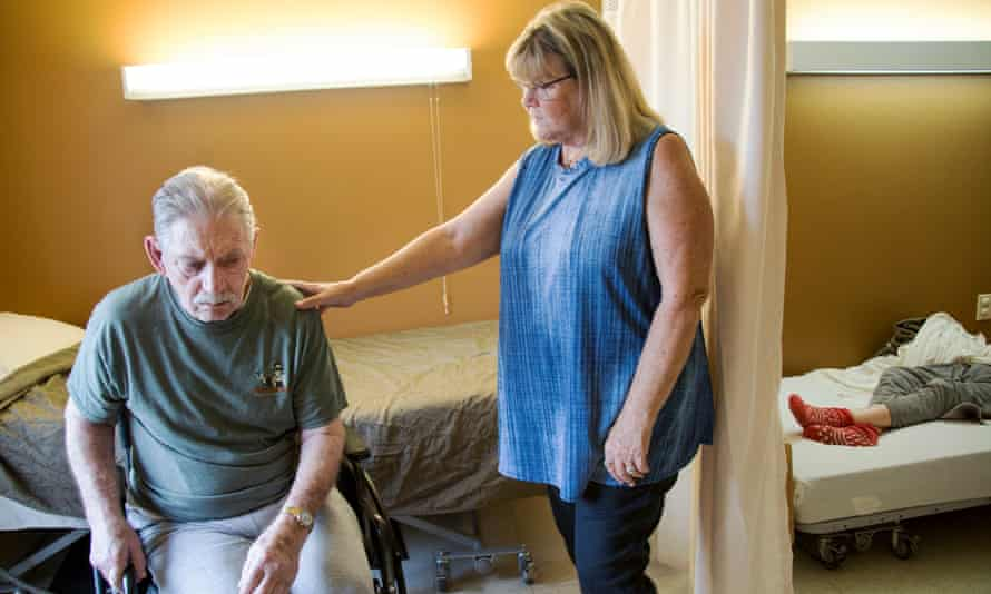 Scenes of Al and Charlene Wagner at the Garden Terrace nursing home that he lives in and she visits everyday, in Overland Park, Kansas.