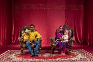 Abid, Anjum, Shumayla and Saheba Bhai live in Nawab colony.