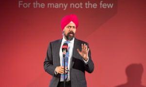 The Labour MP Tanmanjeet Singh Dhesi