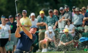 Phil Mickelson, second round of the Masters