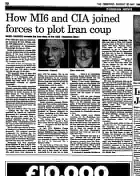 The Observer's revelations in 1985.