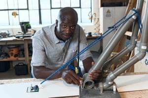 Industrial designer Yusuf in The Big Life Fix