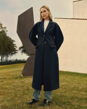 North star Influencer, stylist, icon of Nordic style, Pernille Teisbaek has joined forces with Mango's design team,  creating a capsule wardrobe of 20 pieces made using  sustainable fabrics. Included in the collection are a tailored jacket, pale wash jeans and a wool coat, all of which can be seamlessly integrated into your wardrobe. Coat £179.99, mango.com