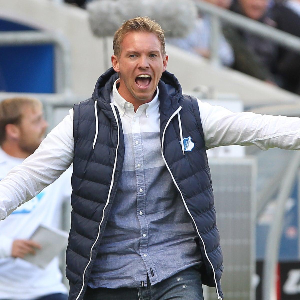 Julian Nagelsmann Hoffenheim S Young Coach Takes On Manchester City 1899 Hoffenheim The Guardian