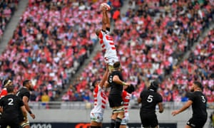 Japan v New Zealand Test rugby union