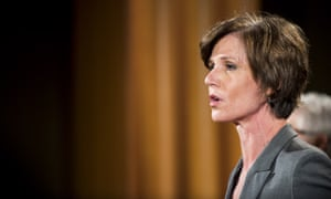 Acting attorney general Sally Yates.