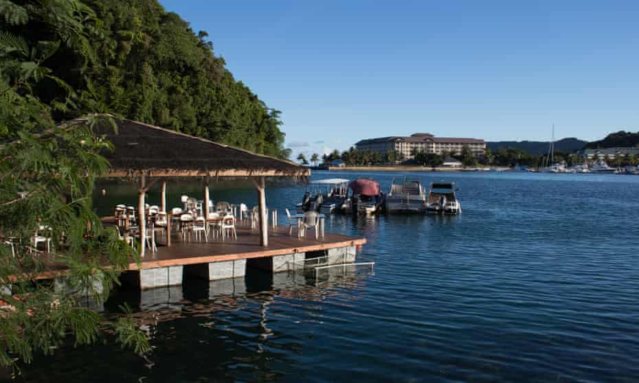 Businesses in Palau are feeling the effect of the drop off in tourism from China
