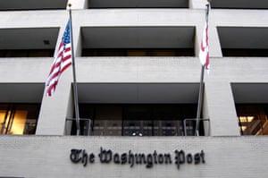 The Washington Post newspaper office Washington DC.