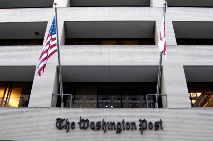 washington post bids farewell to office where it broke watergate world news the guardian