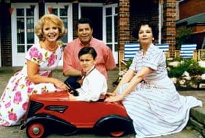 Ruta Lee, Jerry Lewis, Amir Fawzi and Leslie Caron in Funny Bones.
