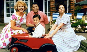 Ruta Lee, Jerry Lewis, Amir Fawzi and Leslie Caron in Funny Bones, 1995