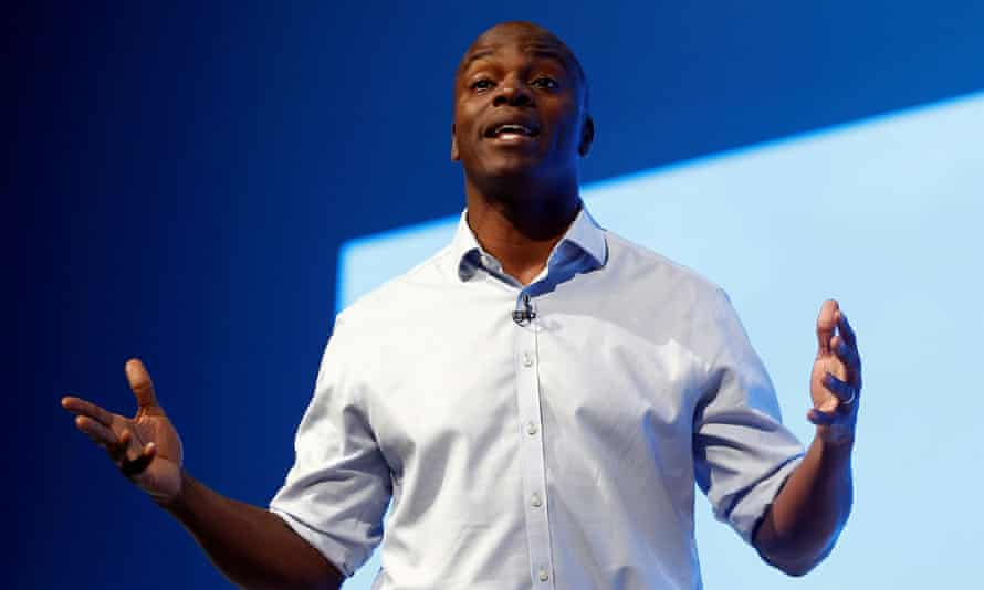 Conservative party candidate for the London mayoralty, Shaun Bailey.
