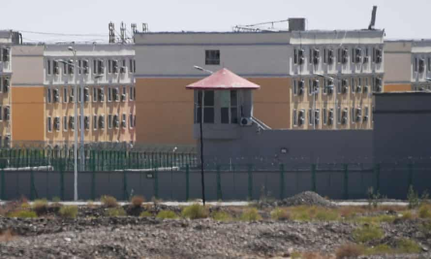 A building believed to be a 're-education camp' for Uighurs in Xinjiang, China.