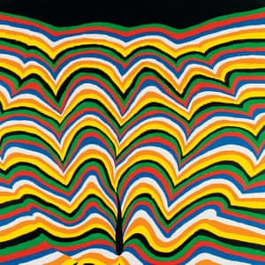 Hydrocarbon Landscape, acrylic on canvas, 2007 by Stanley Donwood
