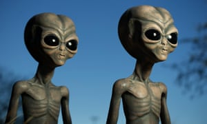 The little green men are acting in our best interests, according to Dr Young-hae Chi.