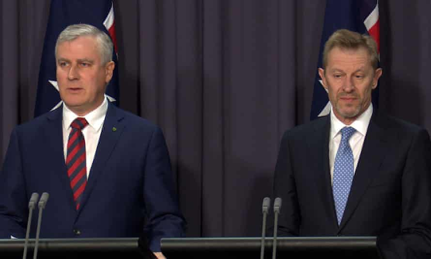 The small business minister, Michael McCormack, and the ABS chief statistician, David Kalisch, face the media on Wednesday to explain the failure of the census website on Tuesday night