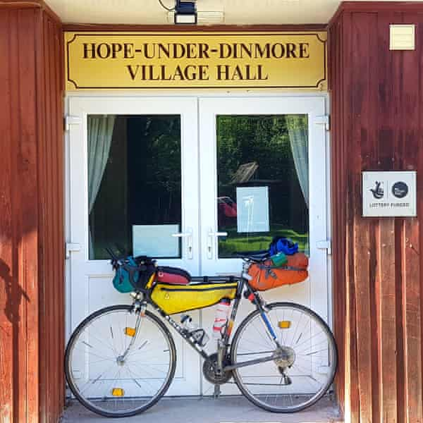 theguardian.com - Jane Dunford - One woman's charity cycle trip in search of places called Hope