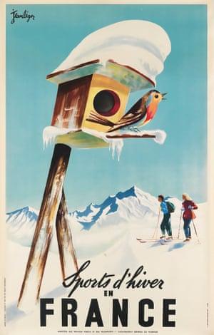 Jean Léger, Sports d'hiver en France