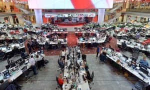 The BBC newsroom in New Broadcasting House, where, says Fran Unsworth, the duty is to inform without fear of favour.