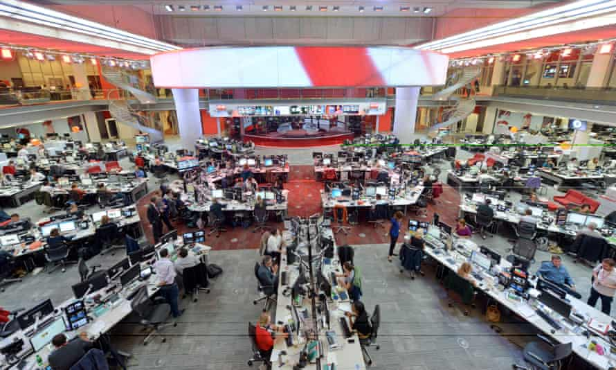 The BBC News channel and BBC World News and  could be replaced by a single service.