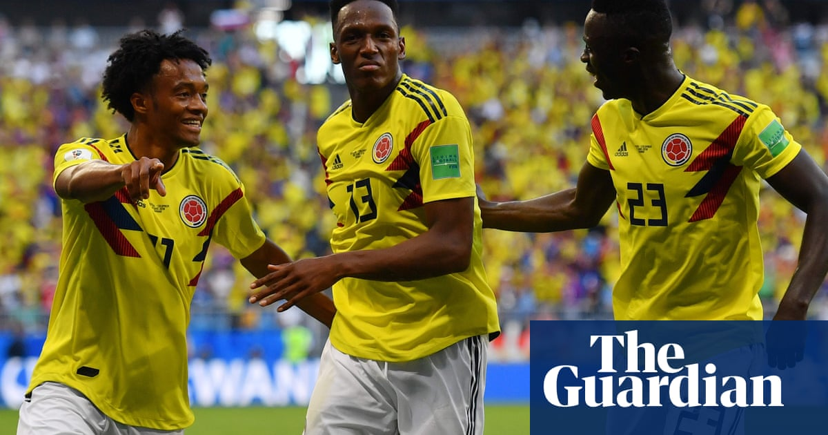 28d1c88ad42 Colombia advance at World Cup as Senegal go out on yellow cards | Football  | The Guardian