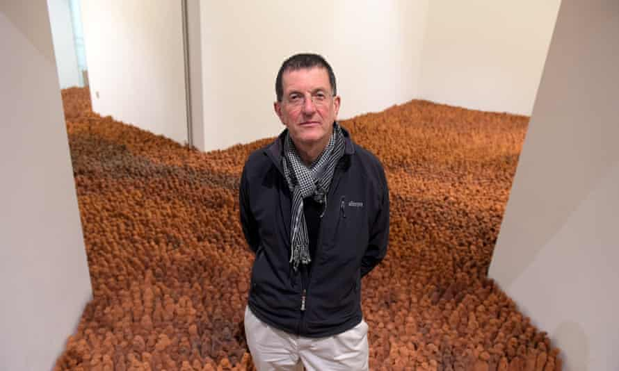 The eyes of the figures are asking: 'What kind of world are you making?' says Antony Gormley.
